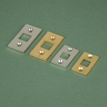 Bolt location plates - large and small